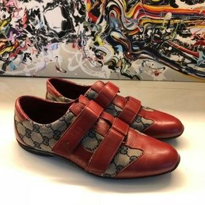 GUCCI RED GG SNEAKERS 9